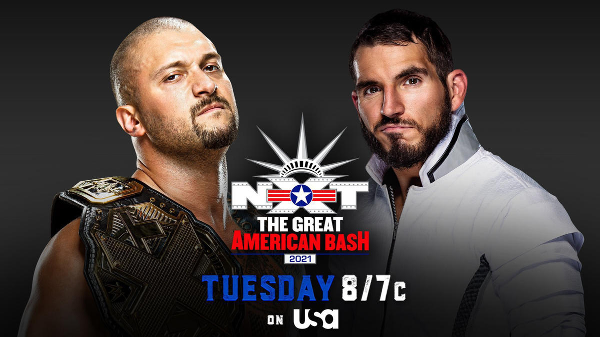 Karrion Kross and Johnny Gargano will meet face-to-face at NXT Great American Bash