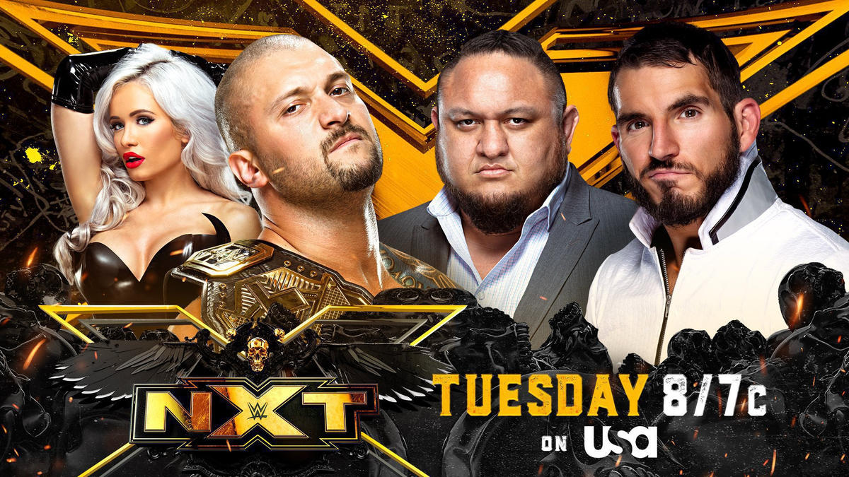 NXT Champion Karrion Kross to battle Johnny Gargano with Samoa Joe as guest referee