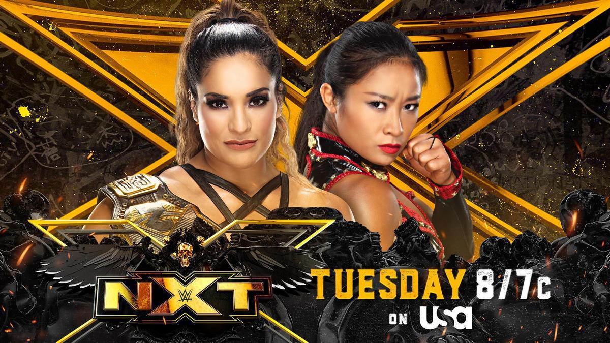 Raquel Gonzalez set to battle Xia Li in NXT Women's Title clash