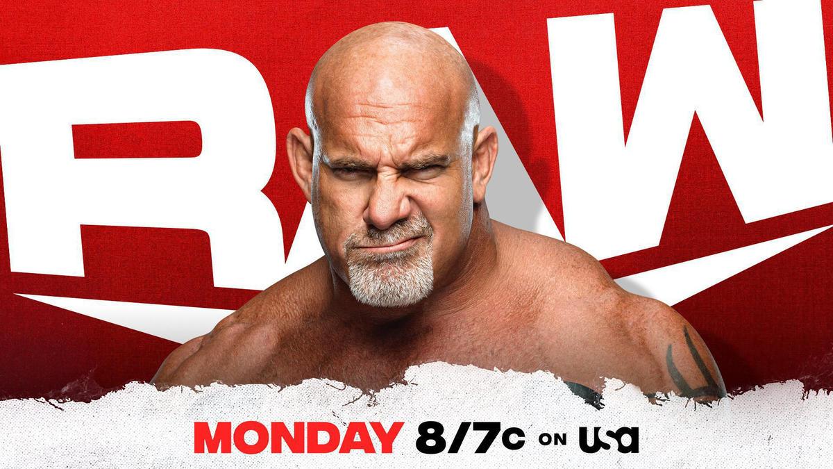Goldberg will return to Raw to address Bobby Lashley and MVP