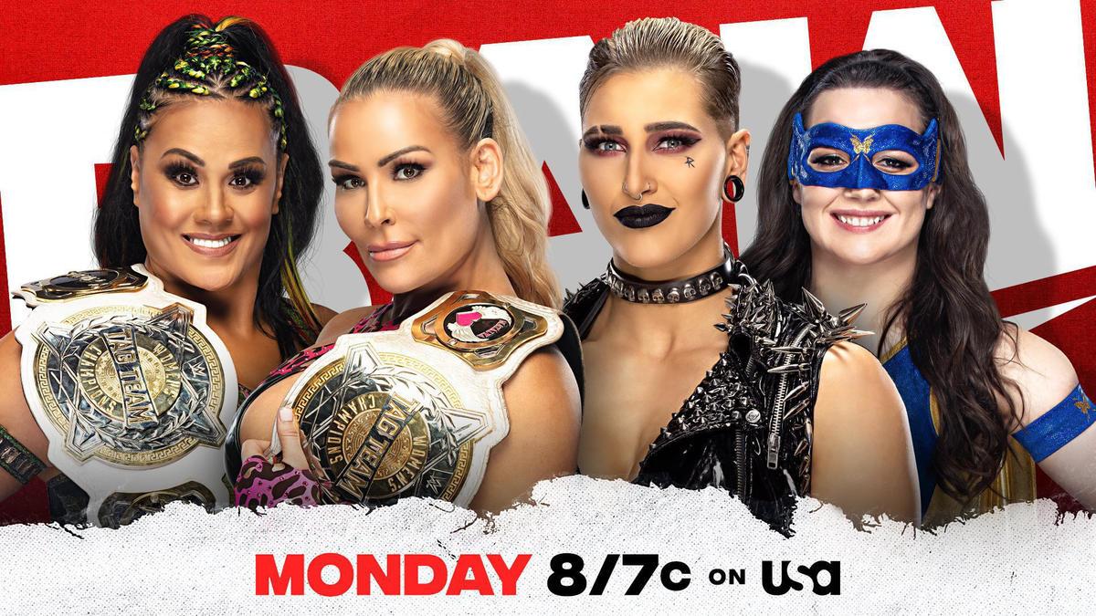 Rhea Ripley & Nikki A.S.H. to challenge Natalya & Tamina for WWE Women's Tag Team Titles