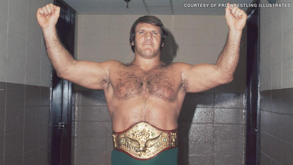WWE Champion Bruno Sammartino