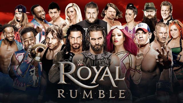 WWE ROYAL RUMBLE 2017 | Wrestling en vivo