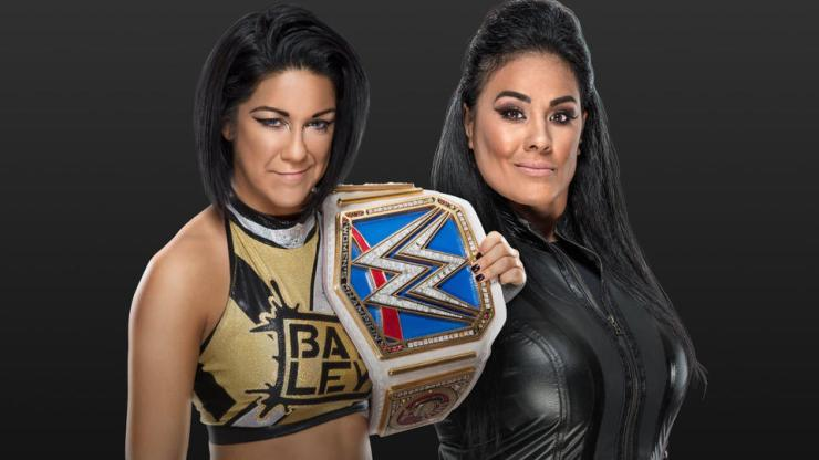 Bayley vs. Tamina