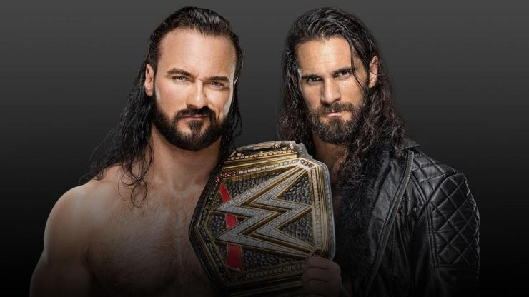 Drew McIntyre (c) vs. Seth Rollins for the WWE Championship