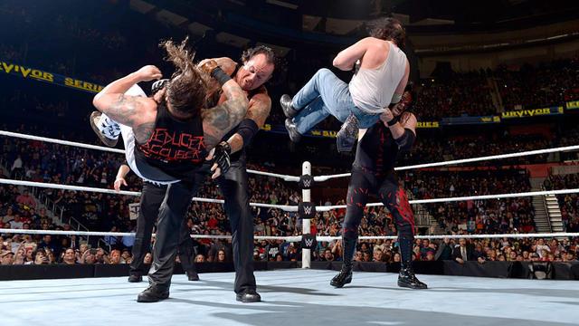The Brothers of Destruction vs. The Wyatt Family: Survivor Series 2015 | WWE