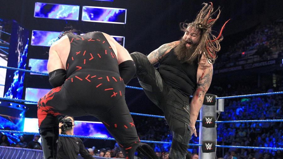 Image result for Kane vs. Bray Wyatt – Backlash