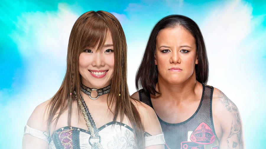 Image result for Mae Young Classic Finals: Shayna Baszler vs. Kairi Sane
