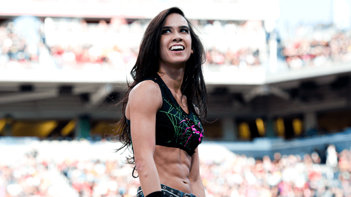 AJ Lee at Wrestlemania 31