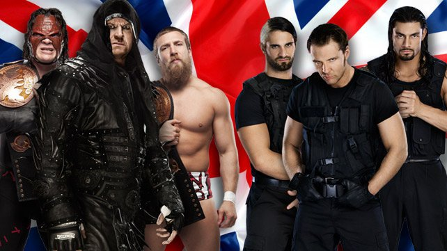 Team Hell No & Undertaker vs. The Shield