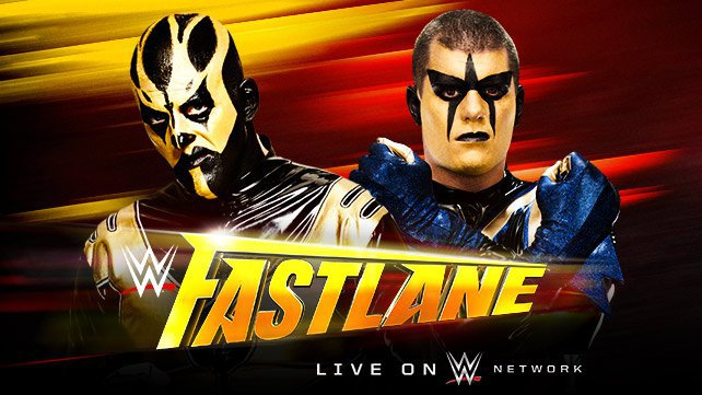 Goldust vs. Stardust at WWE Fastlane 2015
