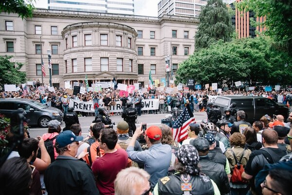 Image result for images of alt right rallies