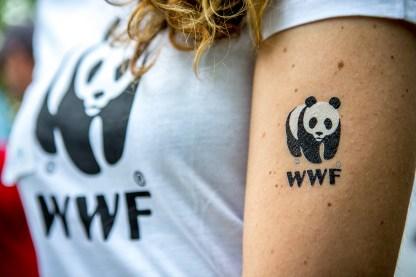 WWF vrouw sportshirt