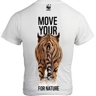 sportshirt WWF tijger