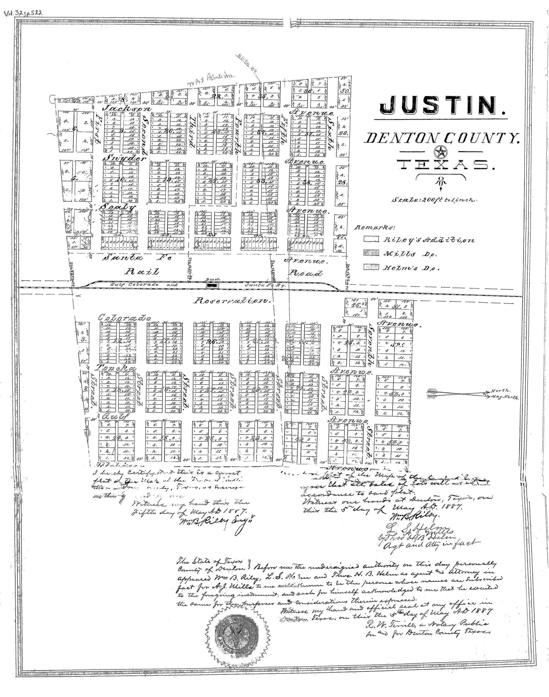 Justin Texas Area Historical Society Home Page