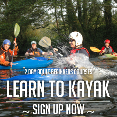 Beginners Kayaking Course Dublin