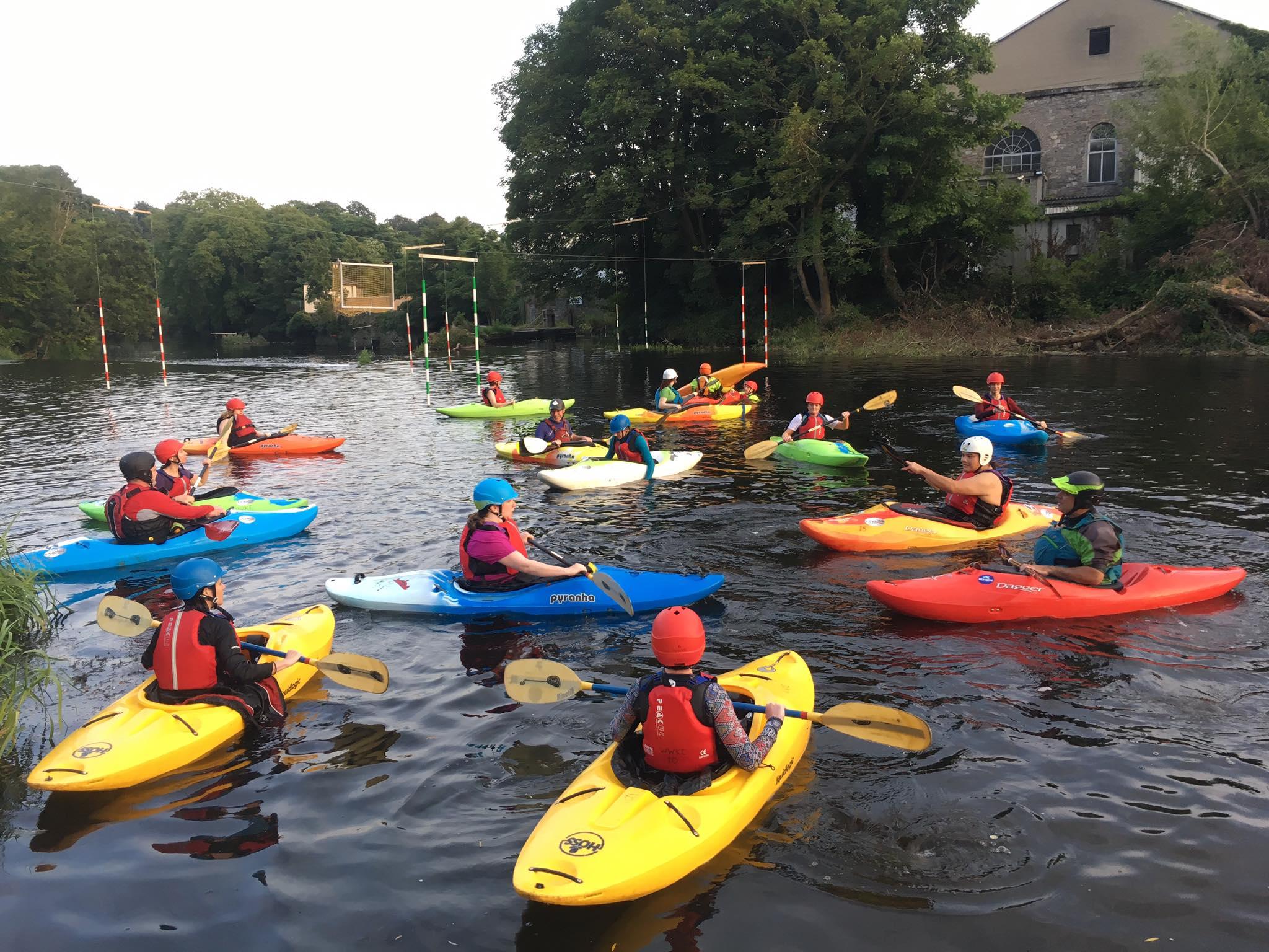WWKC Kayaking Club Dublin