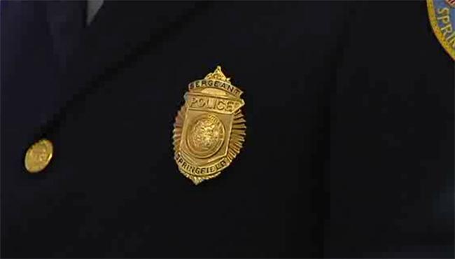 springfield police sergeant badge_192374