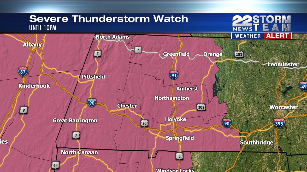 Weather Alert: Strong or severe storms possible later this afternoon