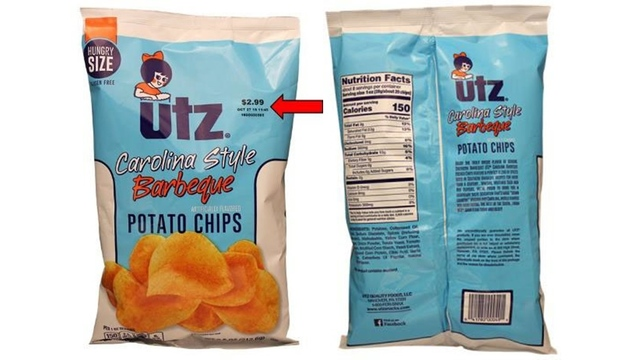 Utz recalls Carolina-style BBQ chips for undeclared soy