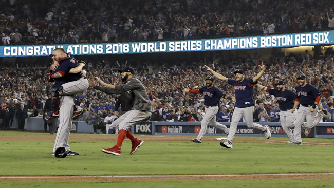 APTOPIX World Series Red Sox Dodgers Baseball_1540802783857