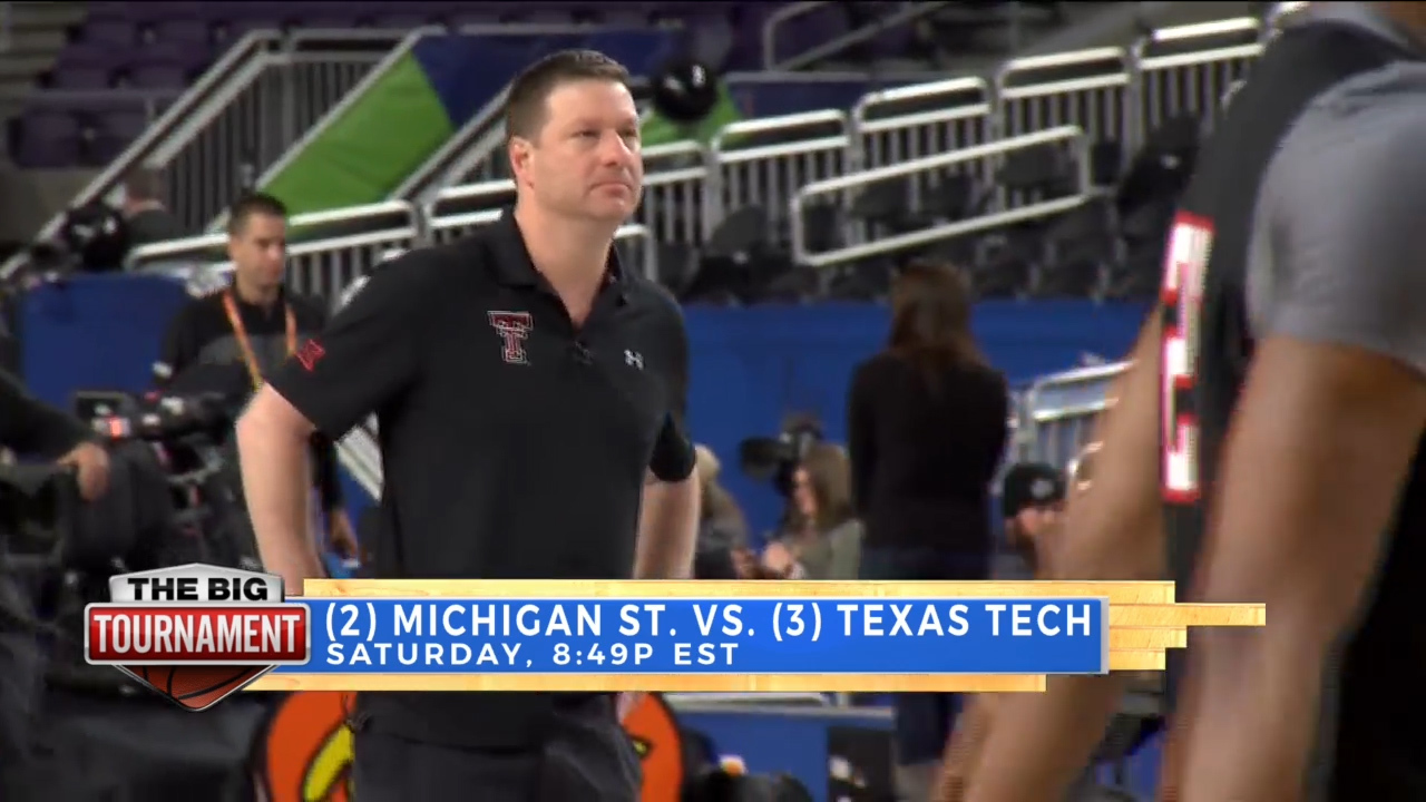 Dave talks Tech during Big Tournament Live