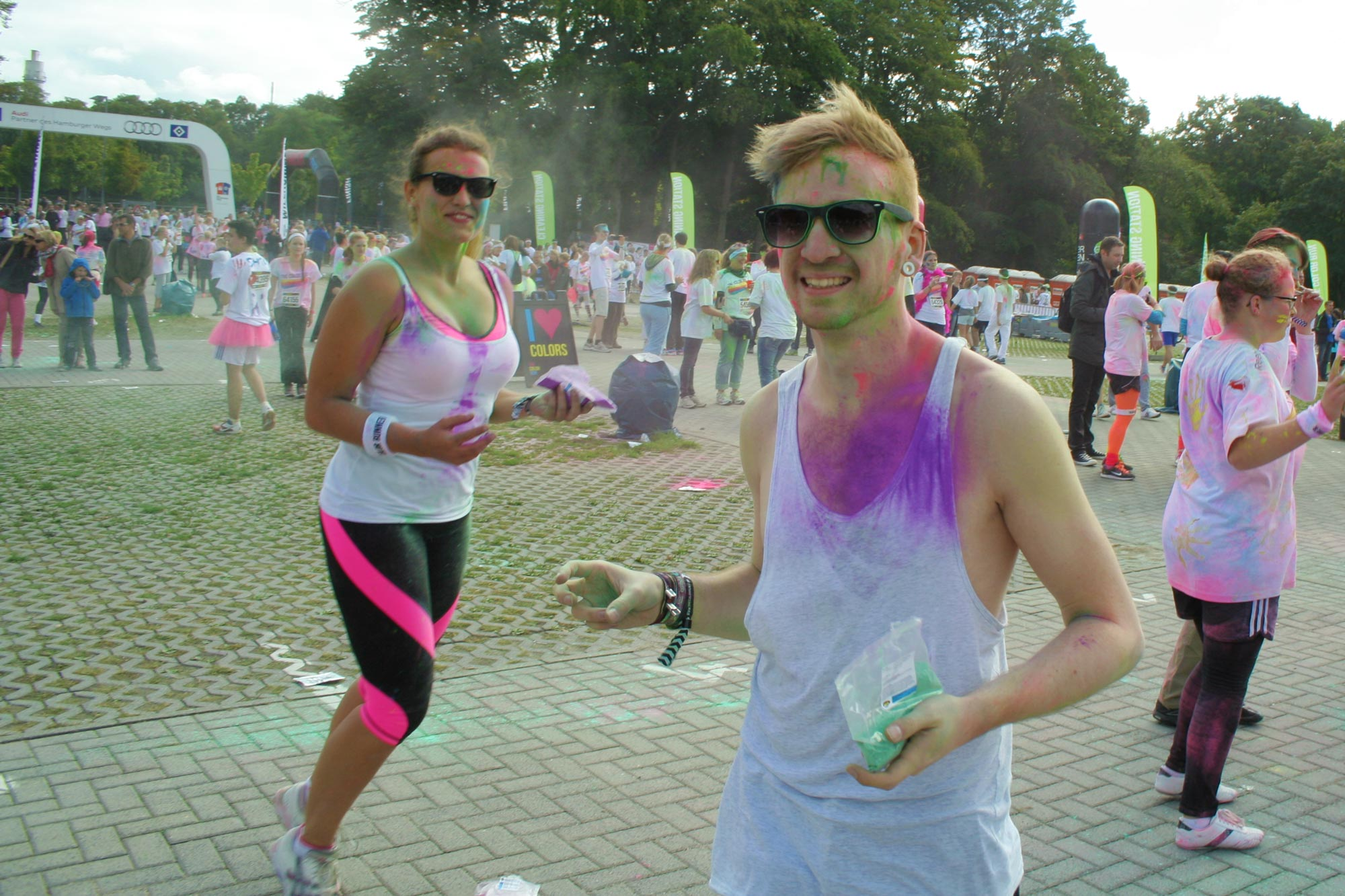 Color Run: Farbkampf