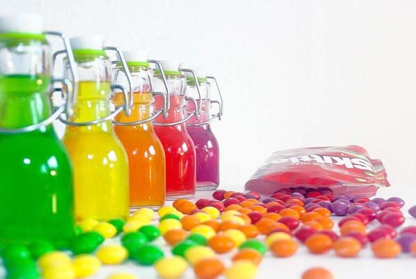 Skittles-Schnaps