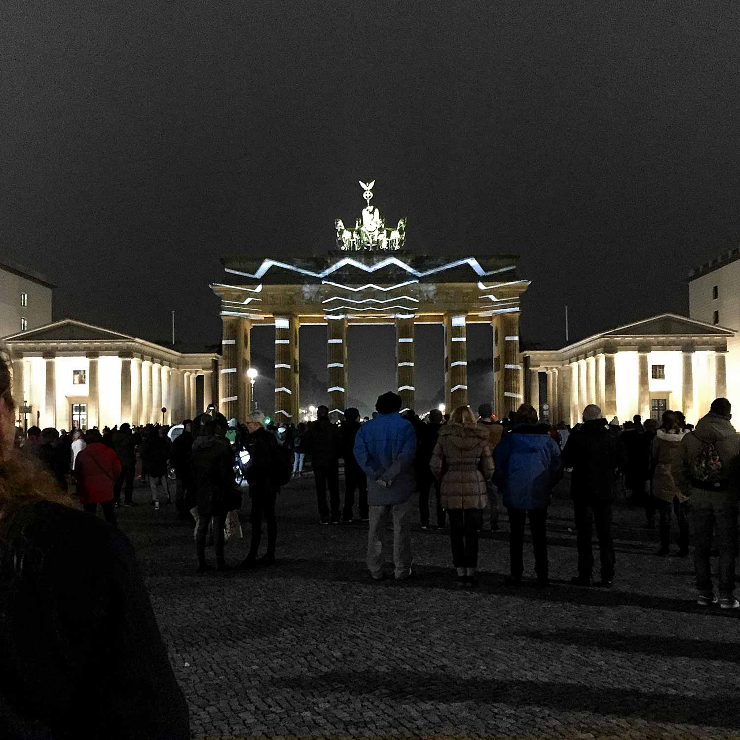 Festival of Lights am Brandenburger Tor