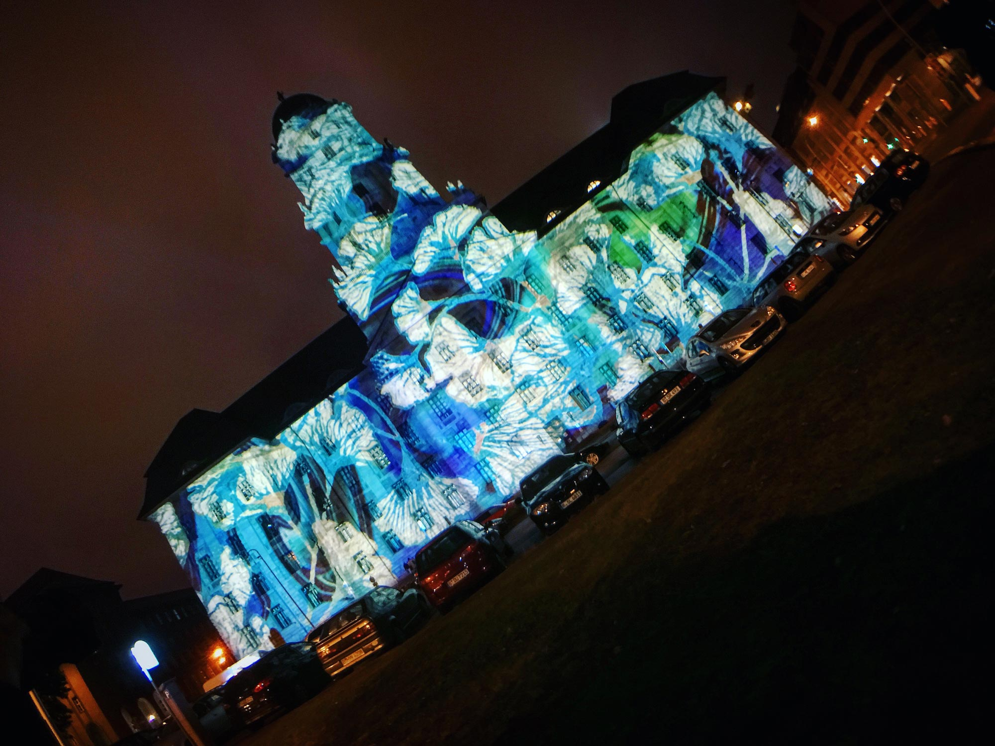 Festival of Lights 2016: Altes Stadthaus