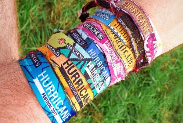 Hurricane Festival Bändchen seit 2009