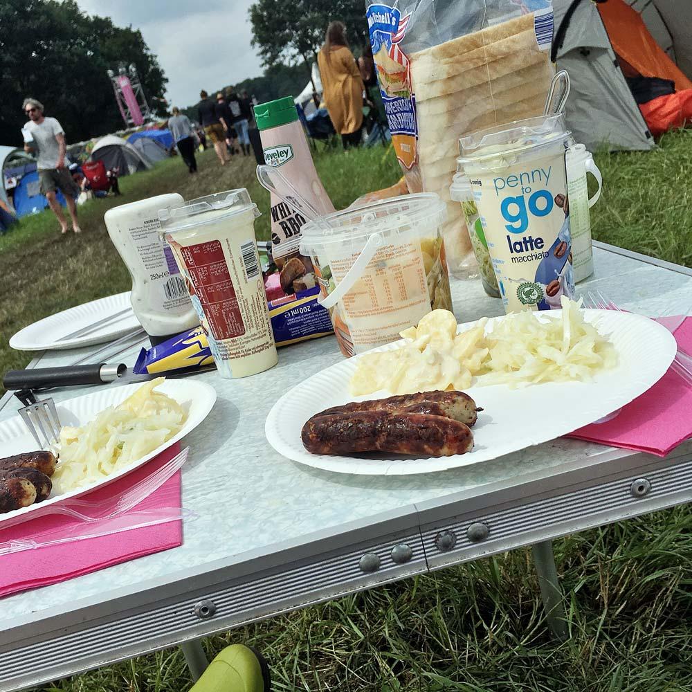 Hurricane Festival 2017: Frühstück