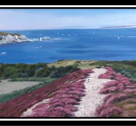 the needles painting by murray ince.
