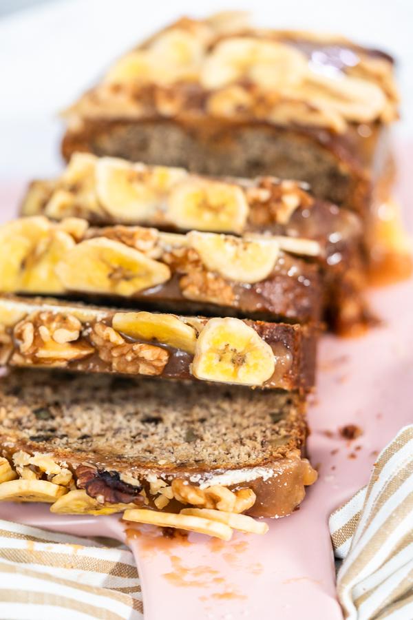 Caramel-Topped Banana Bread