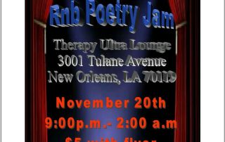 R& B Poetry Jam