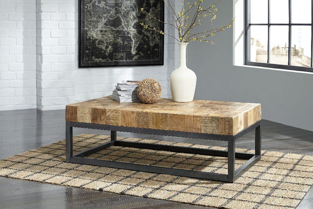 Light Wood Coffee Table Sets