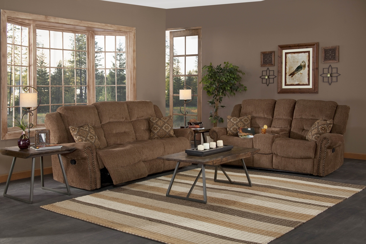Jasper Collection U4256 Plt Panda Leather Reclining Sofa Console Loveseat Set
