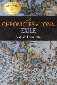 """Oryginalna okładka """"Kroniki Iony. Wygnaniec"""""""