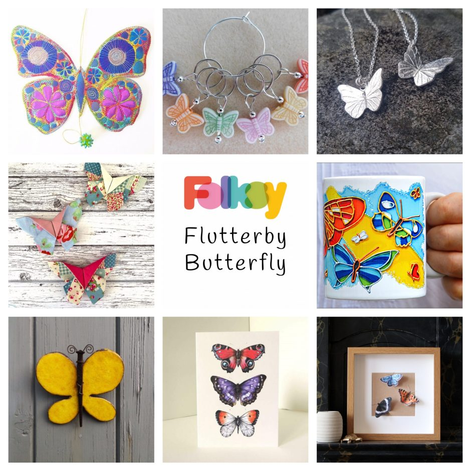 Folksy Friday - Butterflies