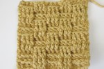 Crochet Basketweave stitch