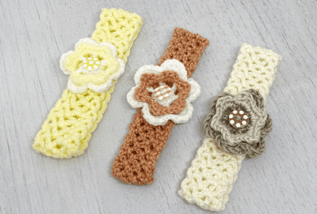 Crochet Baby Headbands