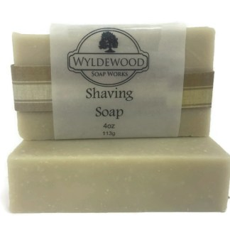 Shaving soap bar