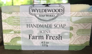 Farm Fresh Scented Soap with Goat Milk