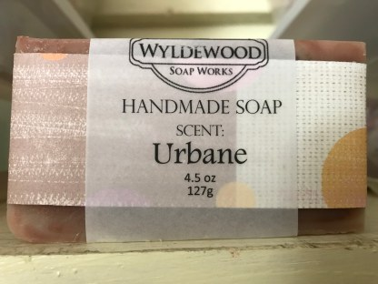 Urbane Scented Soap with Goat Milk