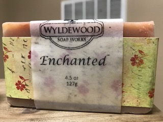 Enchanted Scented Soap with Goat Milk