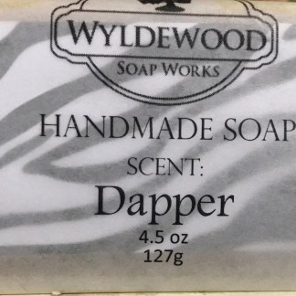 Dapper Scented Soap with Goat Milk