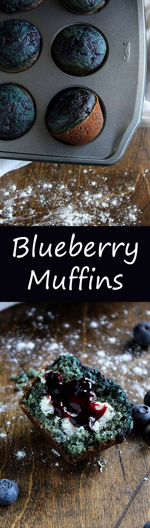 Blueberry Swirl Muffins | Blueberry Muffins | Easy Blueberry Muffins | Healthy Muffin Recipe