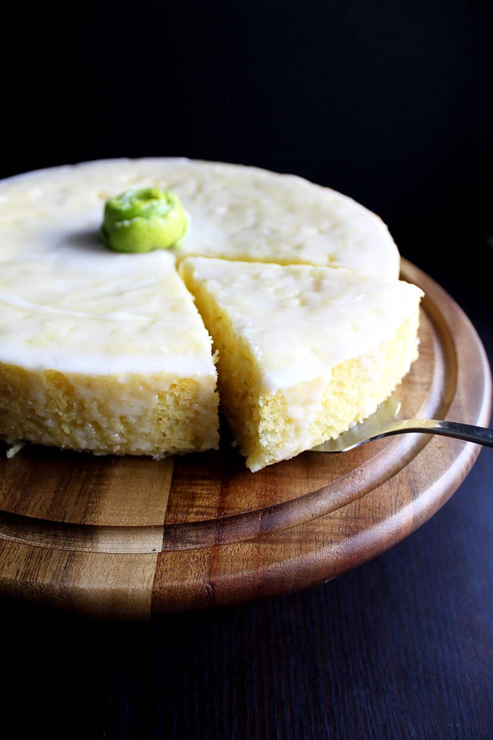 Tequila Lime Corn Cake | Sweet Corn Cake | Unique Cake | Birthday Cake | Gourmet | Fancy | Glaze