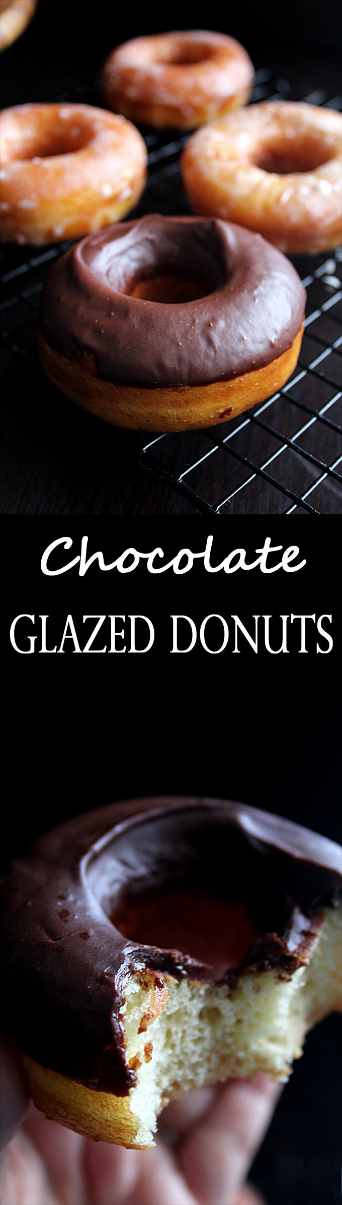 Chocolate Glazed Donut | Cinnamon Sugar Donut Holes | Chocolate Doughnut Recipe | Easy Donut Recipe | Chocolate Glaze Recipe | Fried Donuts
