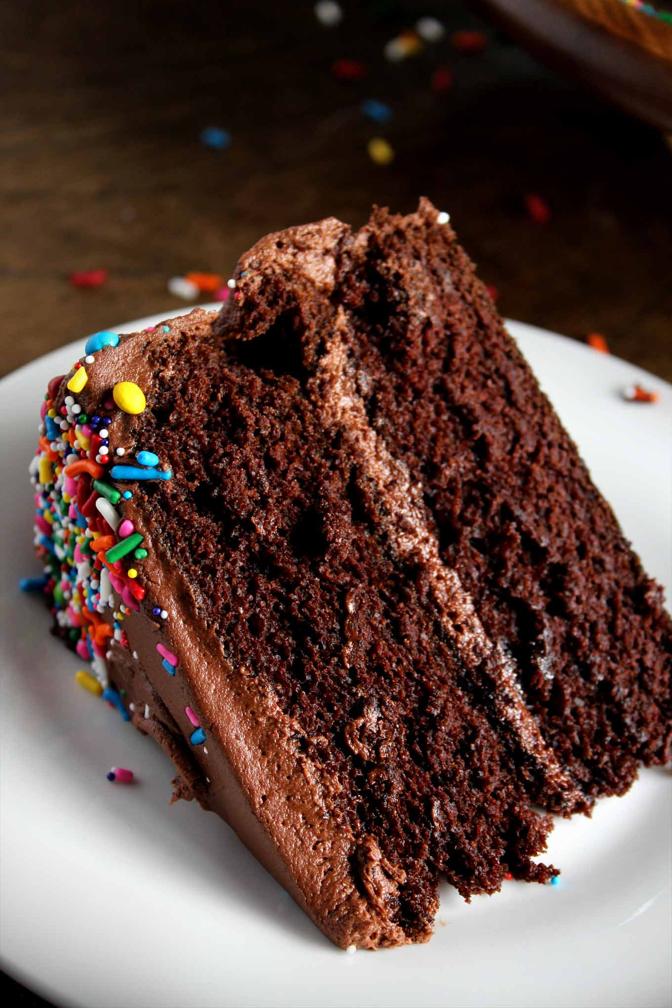 Classic Chocolate Birthday Cake | wyldflour